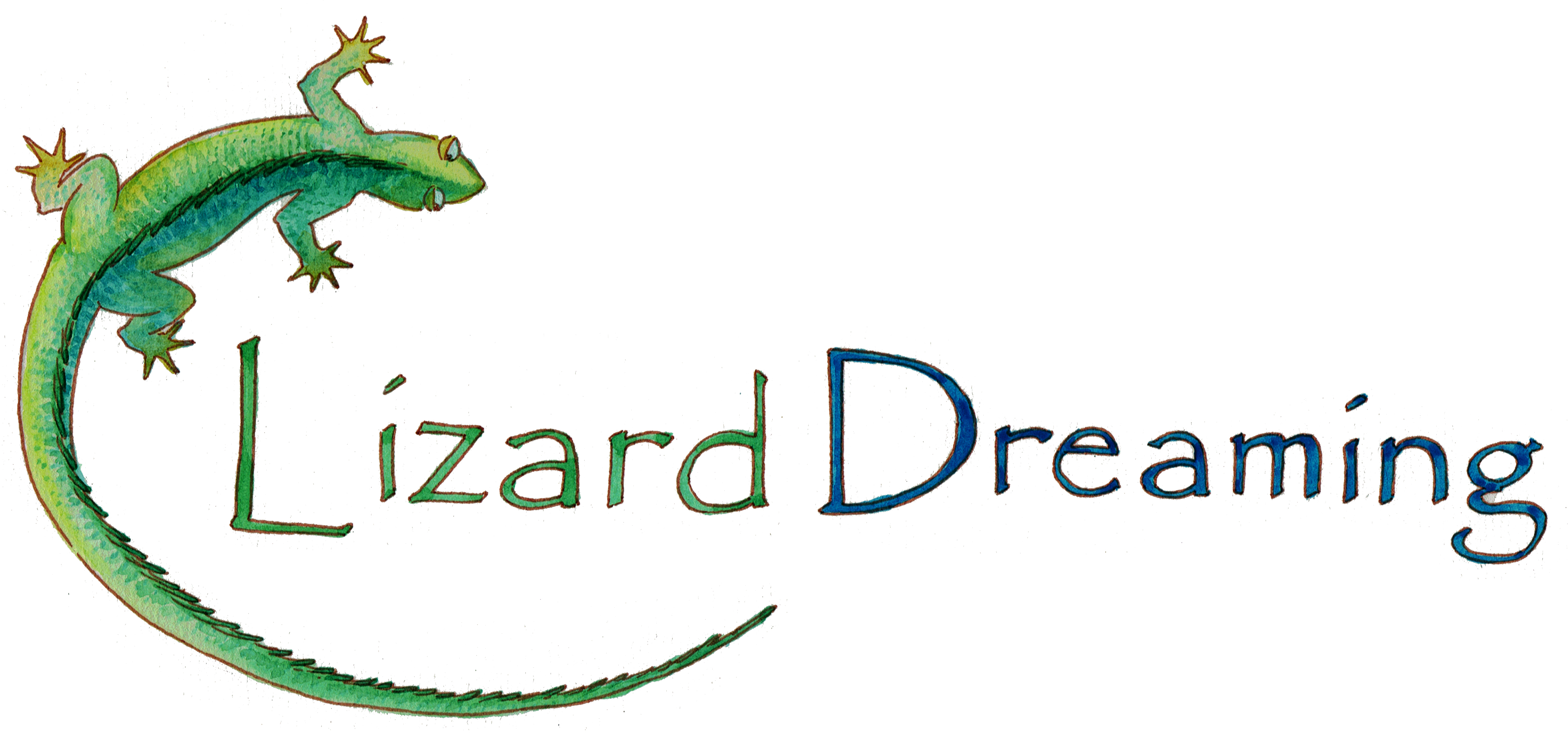 Lizard Dreaming - Photography