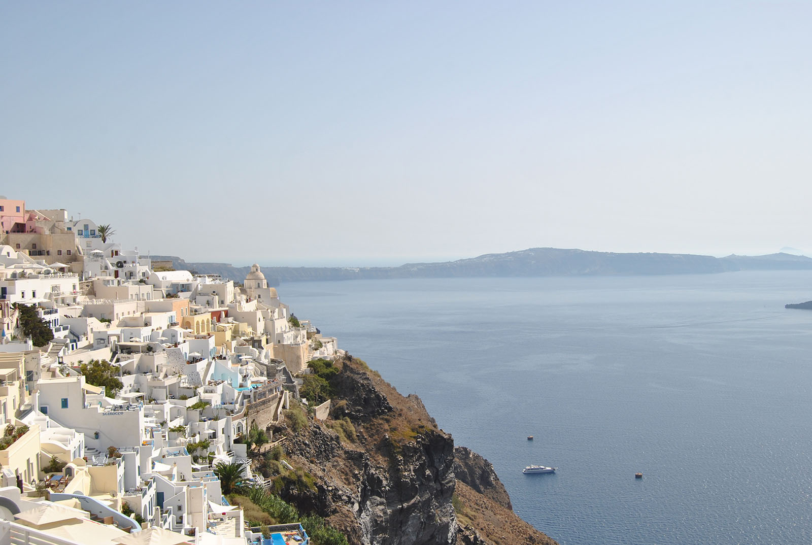 Island Hopping: A Day in Santorini